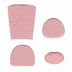 SPECIORD:CUSHION KIT, PINK MINI DOT