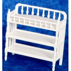 Victorian Changing Table, White