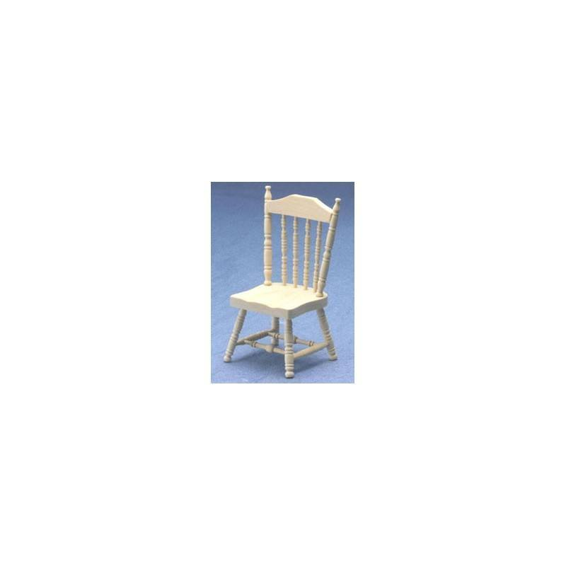 room furniture dining room chairs spindle side chair unfinished