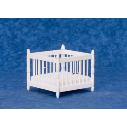 Play Pen, White/Cb