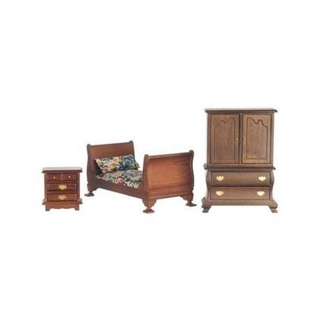dollhouse furniture bedroom furniture bedroom sets sleigh bed