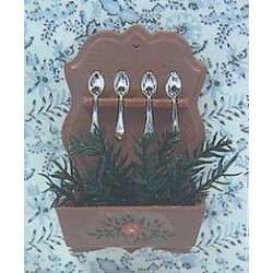 DECORATED SPOON RACK