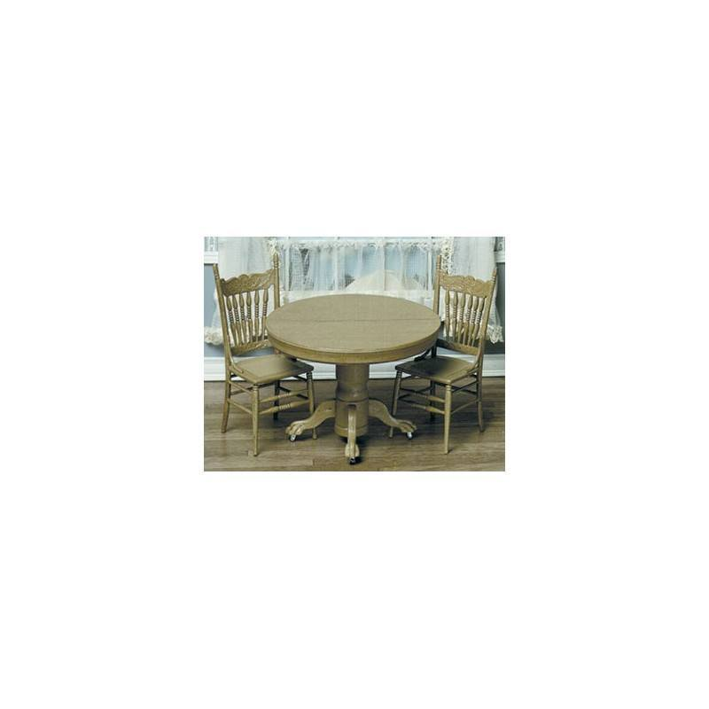 ROUND TABLE W/2 CHAIRS KIT