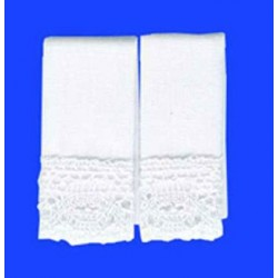 KITCHEN DISH TOWELS: WHITE