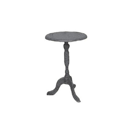 CANDLESTICK TABLE, BLACK