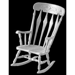 M-530 ARROWBACK ROCKER MINIKIT, WHITE