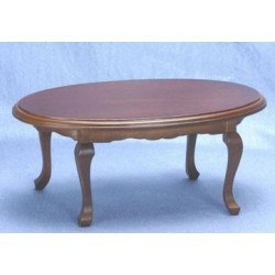 Oval Table, Walnut