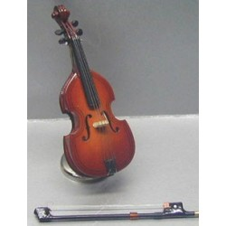CELLO W/CASE & WOODEN STAND