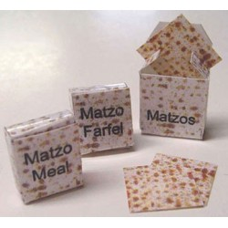 Matzo Pattern Matzo Box Set