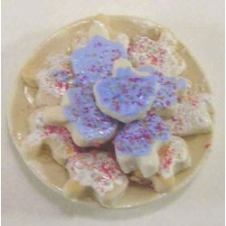 Plate Of Dreidel Cookies