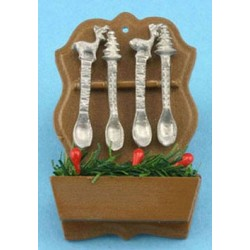 Christmas Spoon Rack