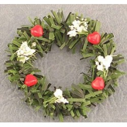 SSN: WREATH WITH HEARTS