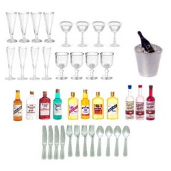 Bar Accessories Set, 44Pc