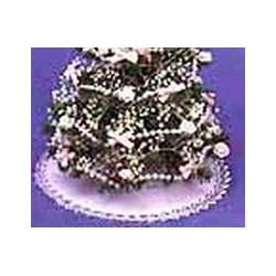 White & Silver Tree Skirt