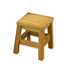 Wood Work Stool