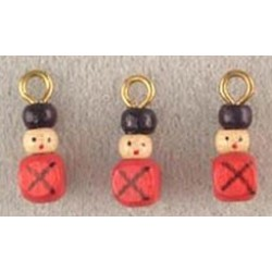 SSN: TOY SOLDIER ORNAMENTS, 3/PK