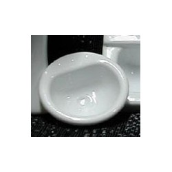 Sink-Vanity 1:12 White 1Pc