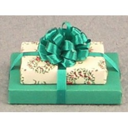 Double Christmas Gift & Bow