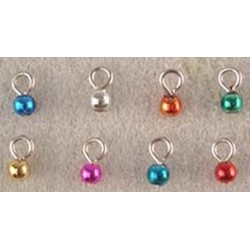 SSN: (8) TINE JEWEL TONE ORNAMENTS