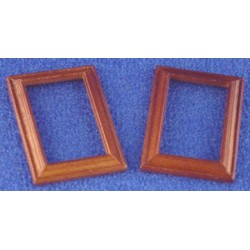 WOODEN FRAME 3.2 X 4.7CM, WALNUT, 2PC