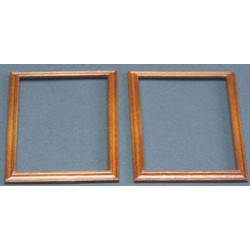 WOODEN FRAME 6.2 X 8.5 CM, WALNUT, 2PC