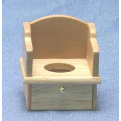Oak Potty Chair