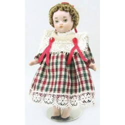 Christina 4In Porcelain Doll