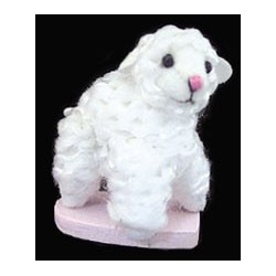 Mini Plush 1In Lamb