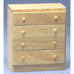 Simple Oak Chest Of Drawers