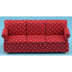 Red Printed Sofa