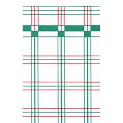 WALLPAPER 1PC, RED/GREEN PLAID