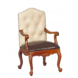 George Iv Armchair/Walnut