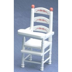 ABC White High Chair
