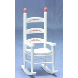 ABC White Rocker