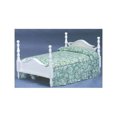 Double Bed White