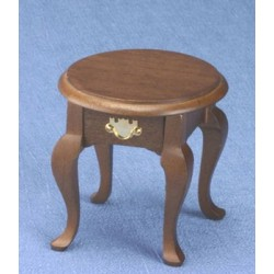 Queen Anne Walnut Occasional Table