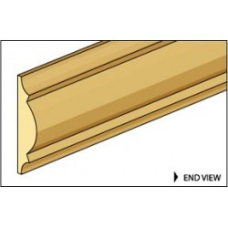 &NE951: CRA-6 CHAIR RAIL, 24L