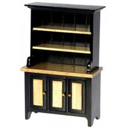 Black & Oak Hutch