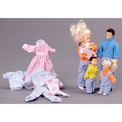 Doll Family Set