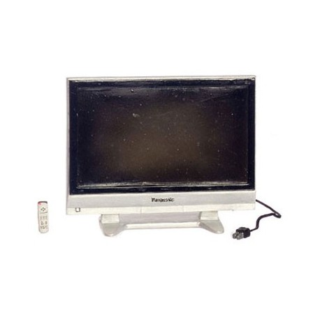 50 IN WIDESCREEN TV W/REMOTE