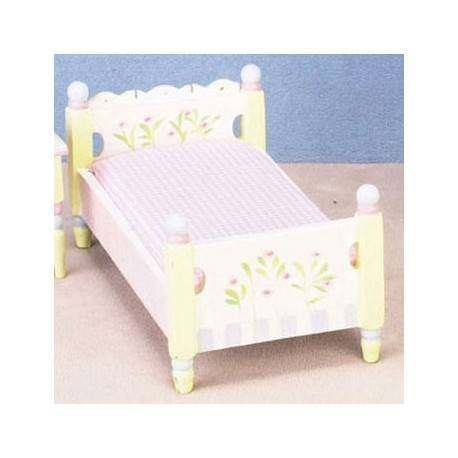 Floral Pastel Single Bed