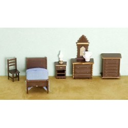 "1/4"" 8 Piece Bedroom Set"