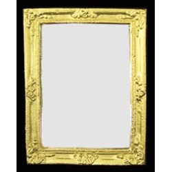 Gold Rectangle Guilded Mirror