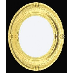 Oval Guilded Mirror