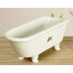 Decal White Tub