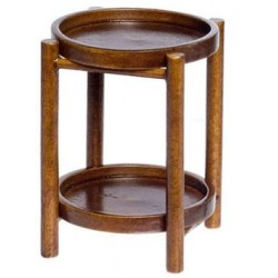 WARWICK BUTLER TABLE, WALNUT