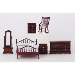 Mahogany Master Bedroom Set