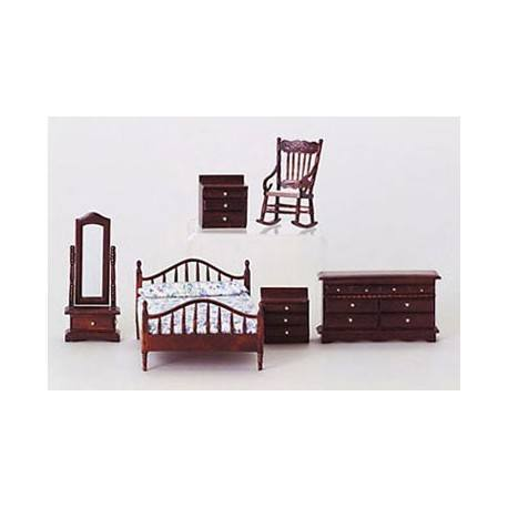 dollhouse furniture bedroom furniture bedroom sets mahogany