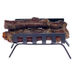 Black Metal Log Holder