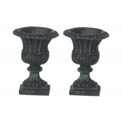 Roma Urns/black/2pcs
